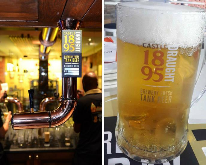 Castle1895 Tank Beer