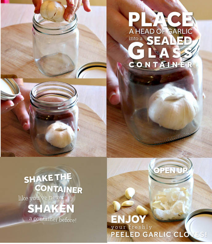 peel garlic
