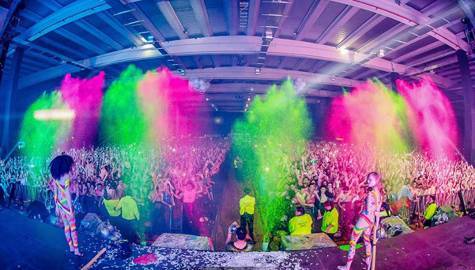 Life in Colour Festival