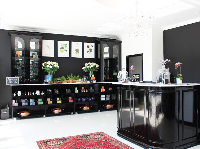 The new Africology store in Dainfern.