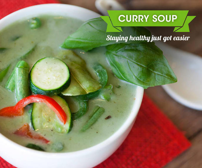 Thai cafe soup