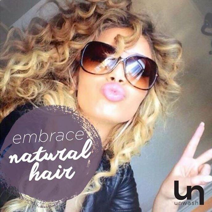 Unwash curls
