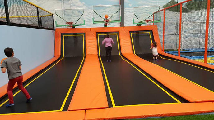 Jump Around trampolines