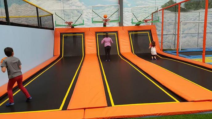 Jump Around trampolines