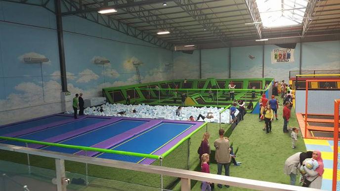 Jump Around trampoline park