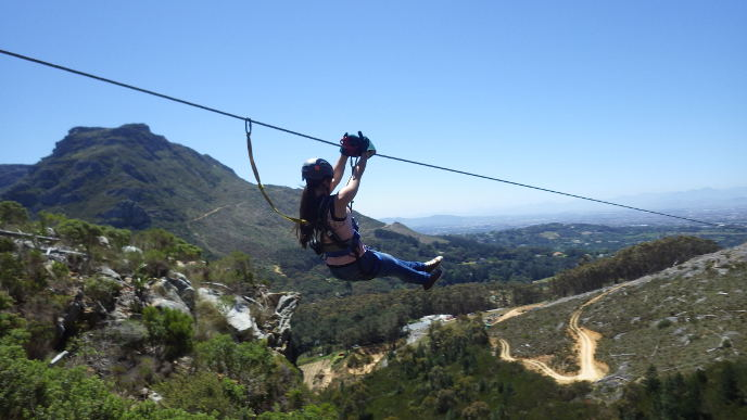 Cape Town Ziplines at Silvermist Vineyards: