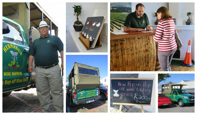 Hermanus wine hoppers