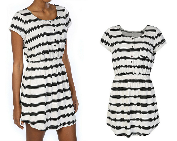 Striped dress MRP