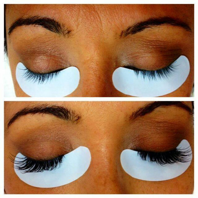 Lash and beauty room