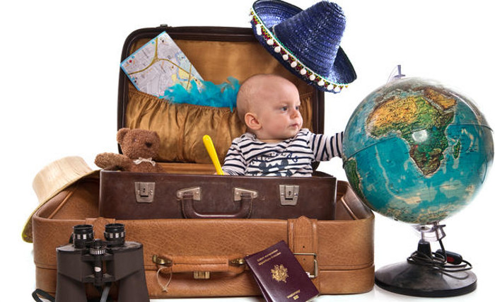 Travelling baby